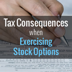 Exercising Stock Options
