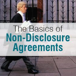 startup nda the basics of non disclosure agreements