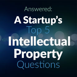 Startup Advice - Intellectual Property