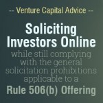 SEC Clarifies How to Sell to Investors in New Online Environment