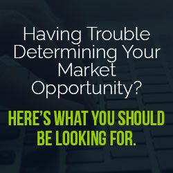 Determine market opportunity with the following stats and formulas - Startup Advice