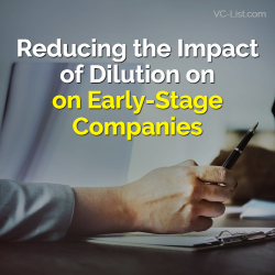 Dilution Early Stage Companies