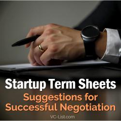 startup term sheets