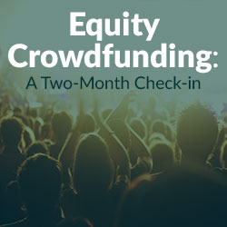 Equity Crowdfunding News