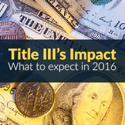 Jobs Act Title III Impact Crowdfunding - Jobs Act Summary