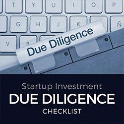 Startup Due Diligence Checklist