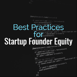 Founders Equity Startup Equity