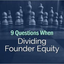 Dividing Founder Equity
